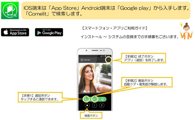 SAifitオプションスマートフォンアプリ
